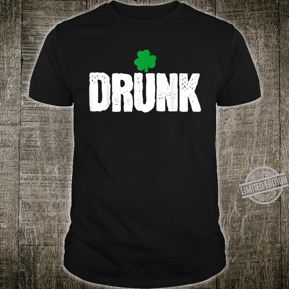 St. Patrick's Day Irish Shamrock Day Drinking Shirt