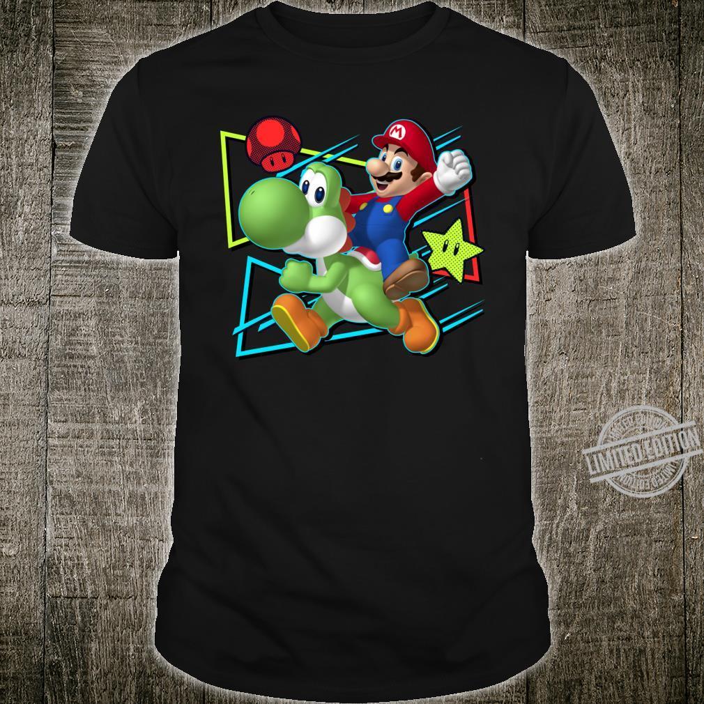 Super Mario Yoshi & Mario Triangle Shirt