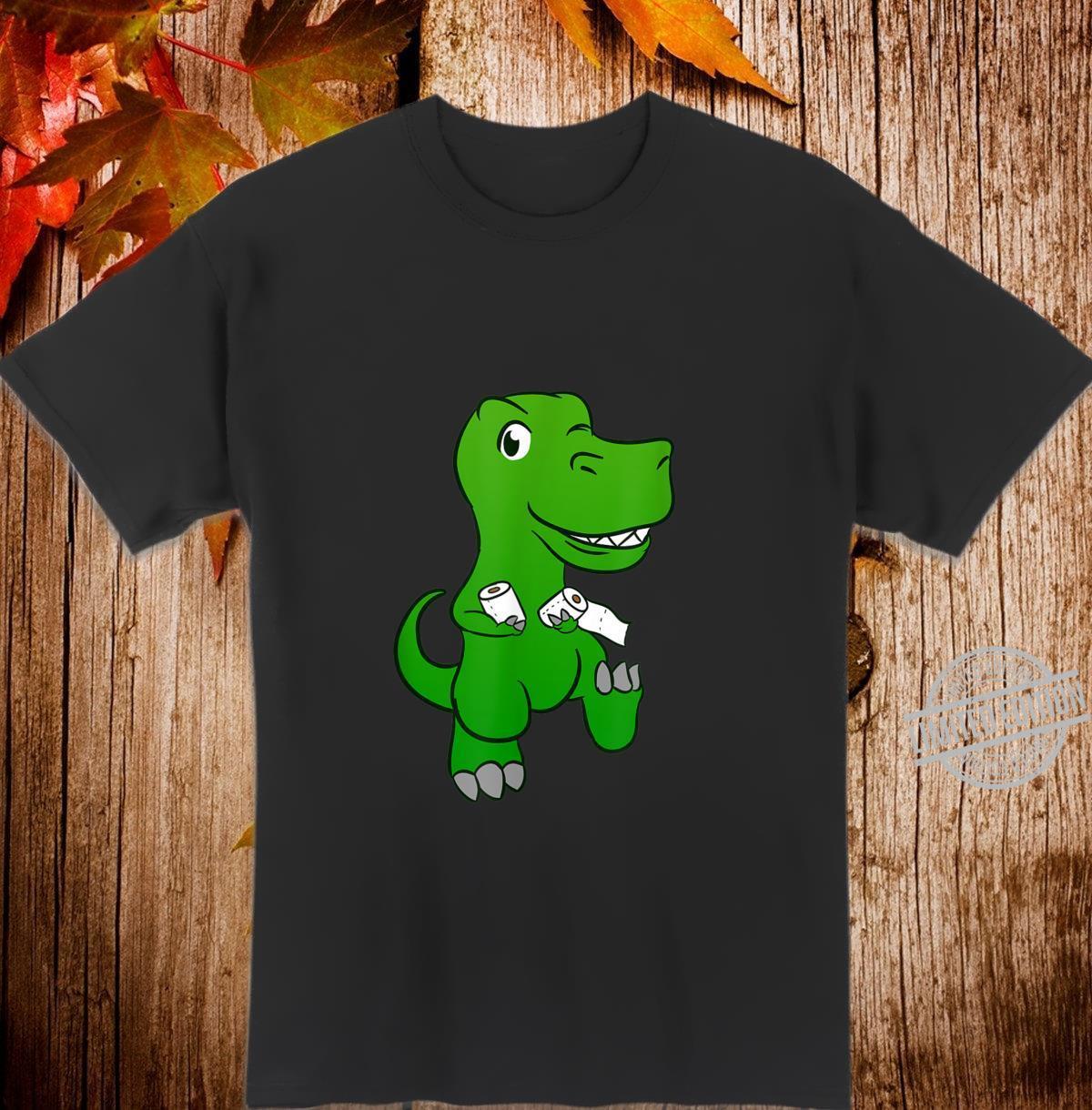 Toilet Paper Dino Shirt