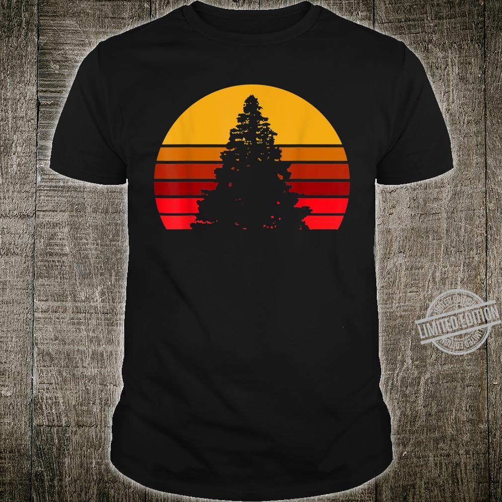 Vintage Sunset Rock,, Shirt