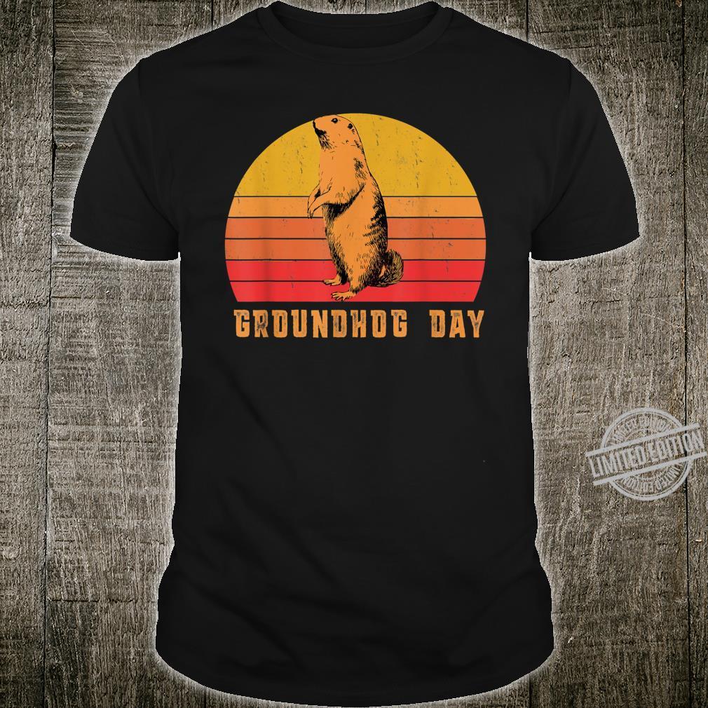 Vintage The Groundhog Day Groundhog Shirt