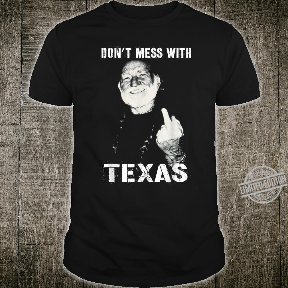 Vintage Willie Love Pride Shirt Don't Mess With Retro Texas Shirt