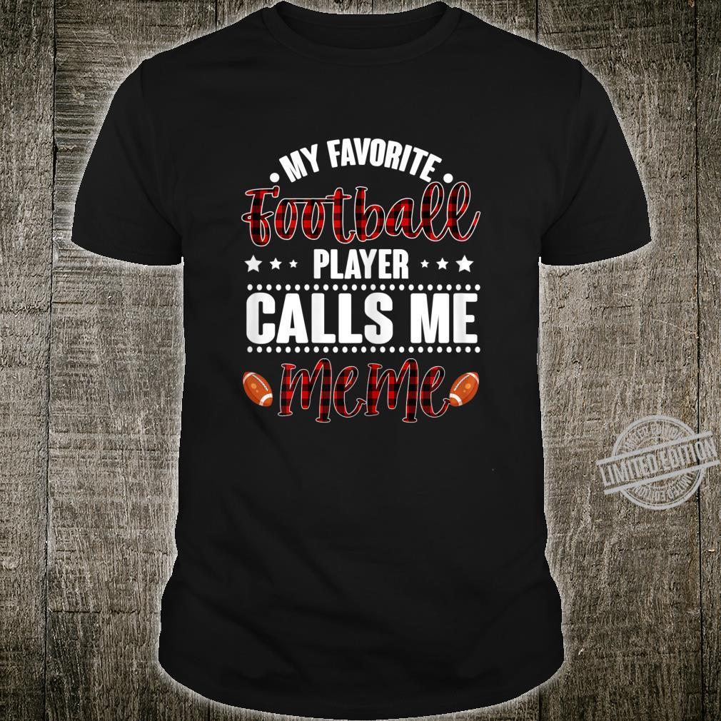 Womens Football Player Calls Me Meme Mother's day 2020 Shirt