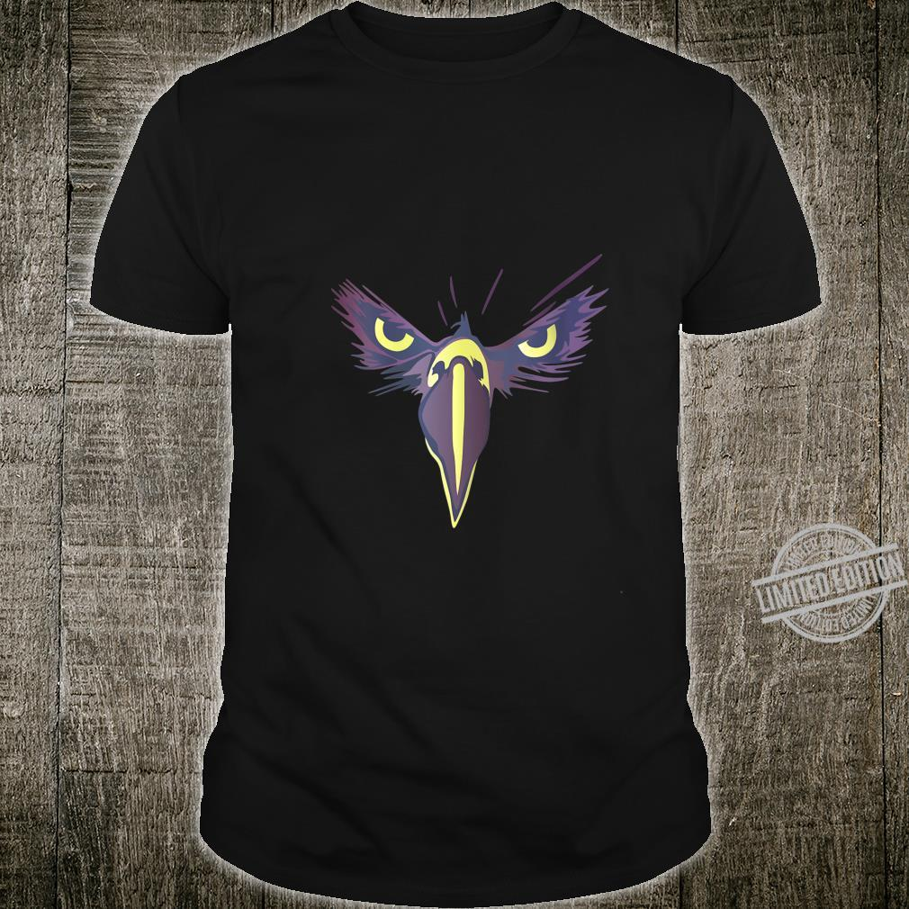 Womens Strong Bird Eagle Eyes Ornithologist Gym Fitness Motivation Shirt