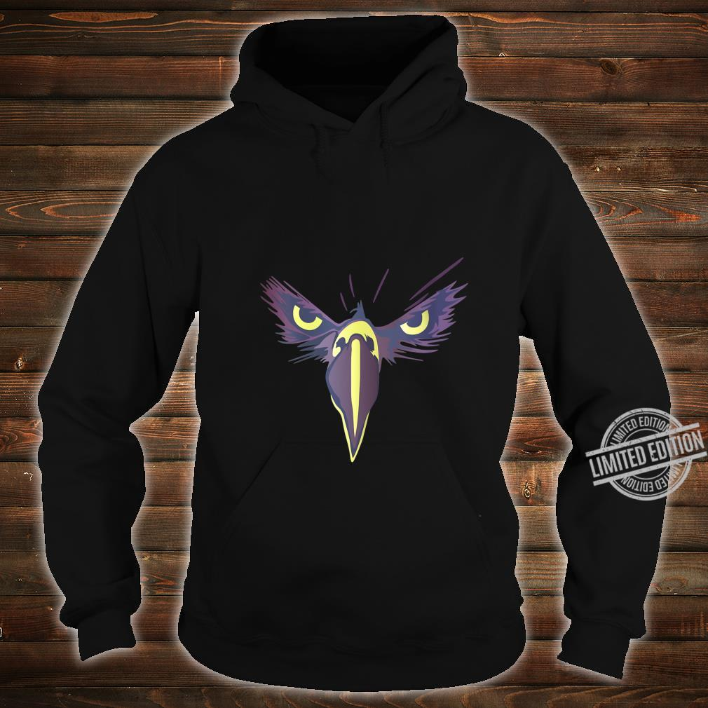 Womens Strong Bird Eagle Eyes Ornithologist Gym Fitness Motivation Shirt hoodie