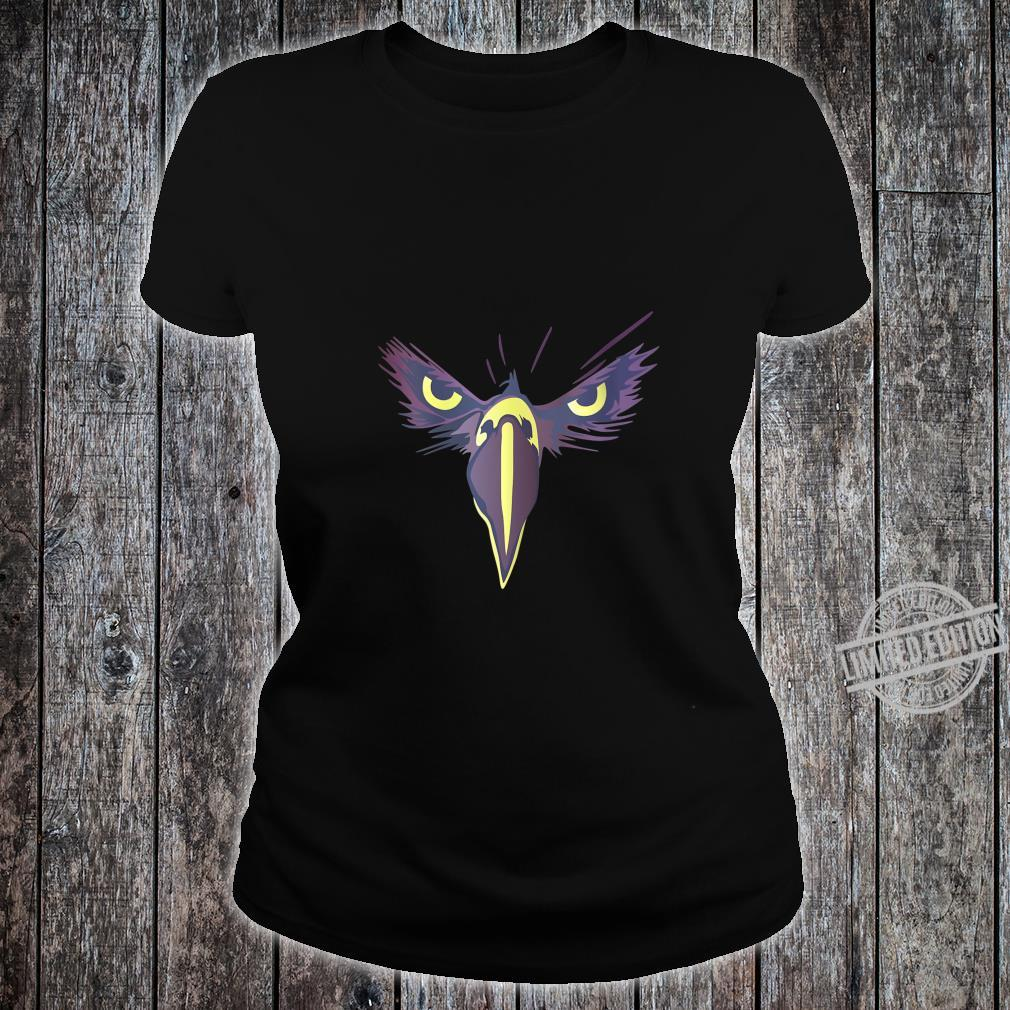 Womens Strong Bird Eagle Eyes Ornithologist Gym Fitness Motivation Shirt ladies tee