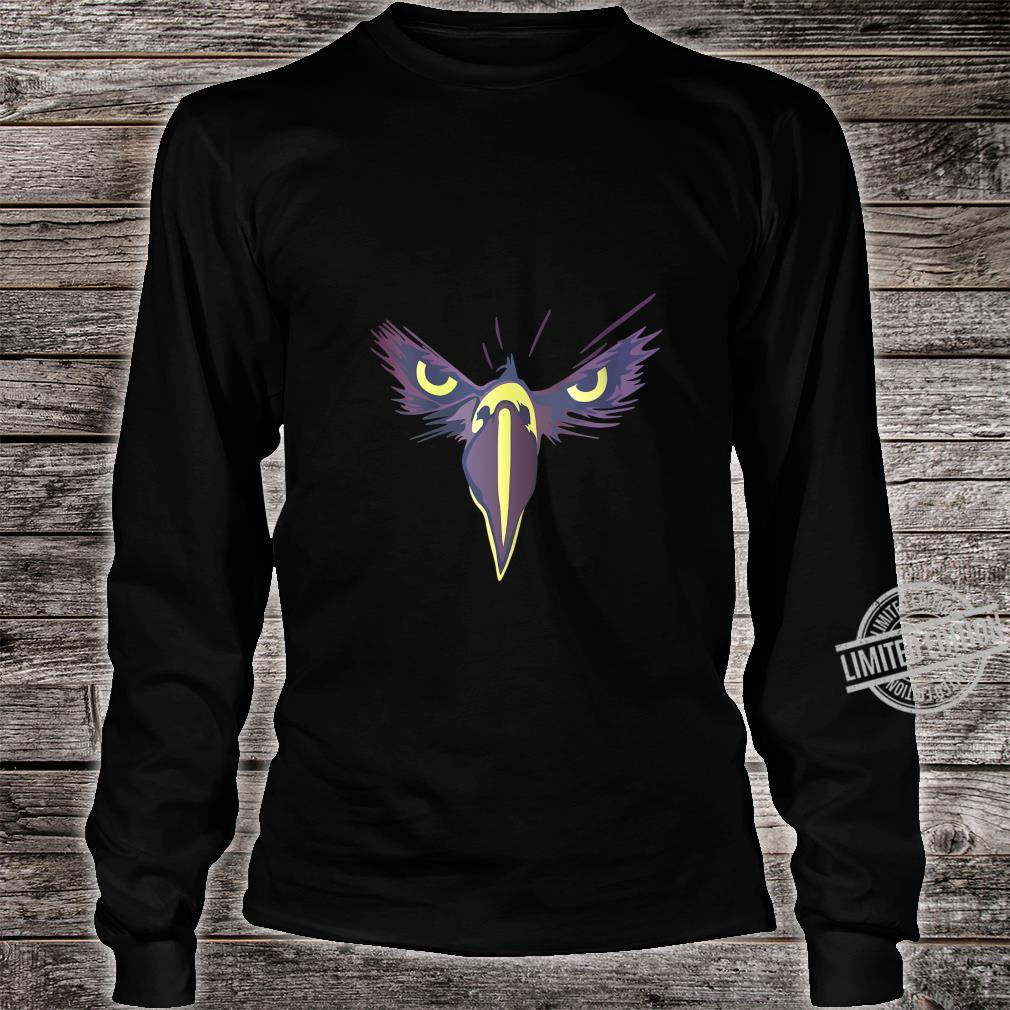Womens Strong Bird Eagle Eyes Ornithologist Gym Fitness Motivation Shirt long sleeved