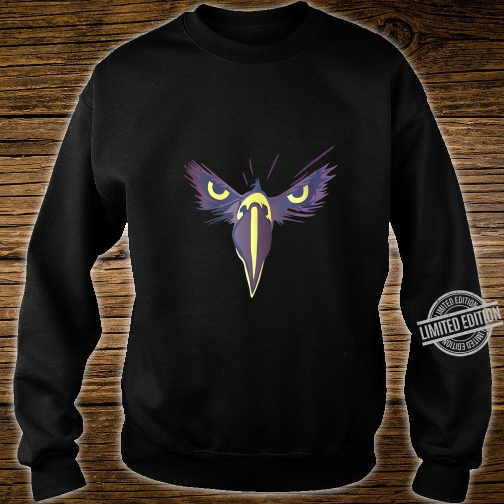 Womens Strong Bird Eagle Eyes Ornithologist Gym Fitness Motivation Shirt sweater