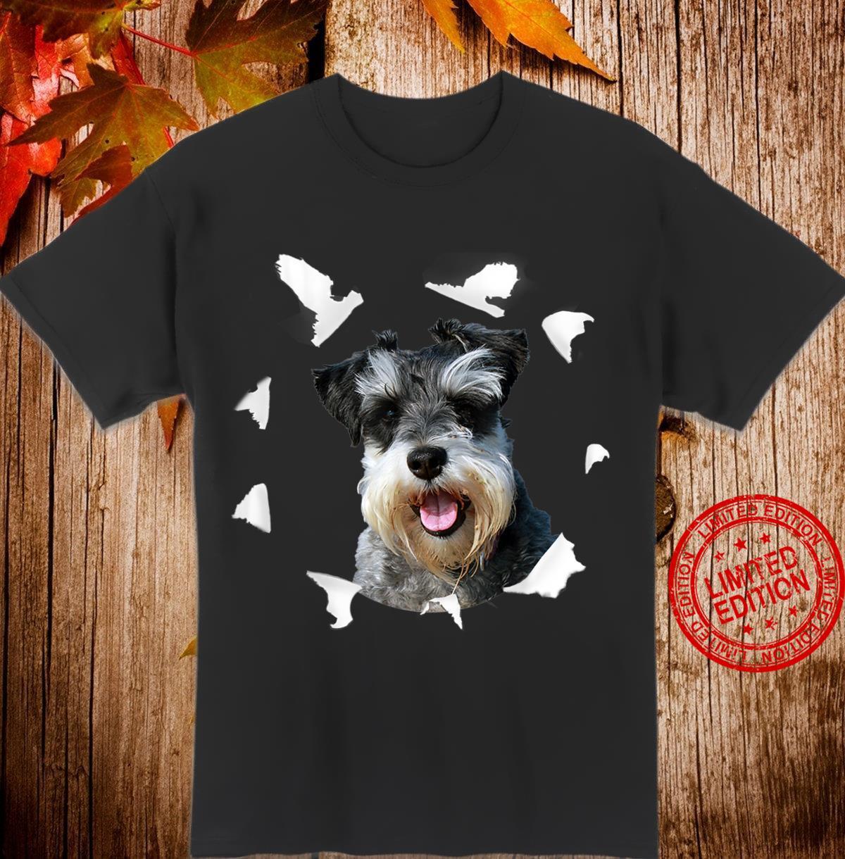 Zwergschnauzer Shirt Zwergschnauzer Hund Shirt