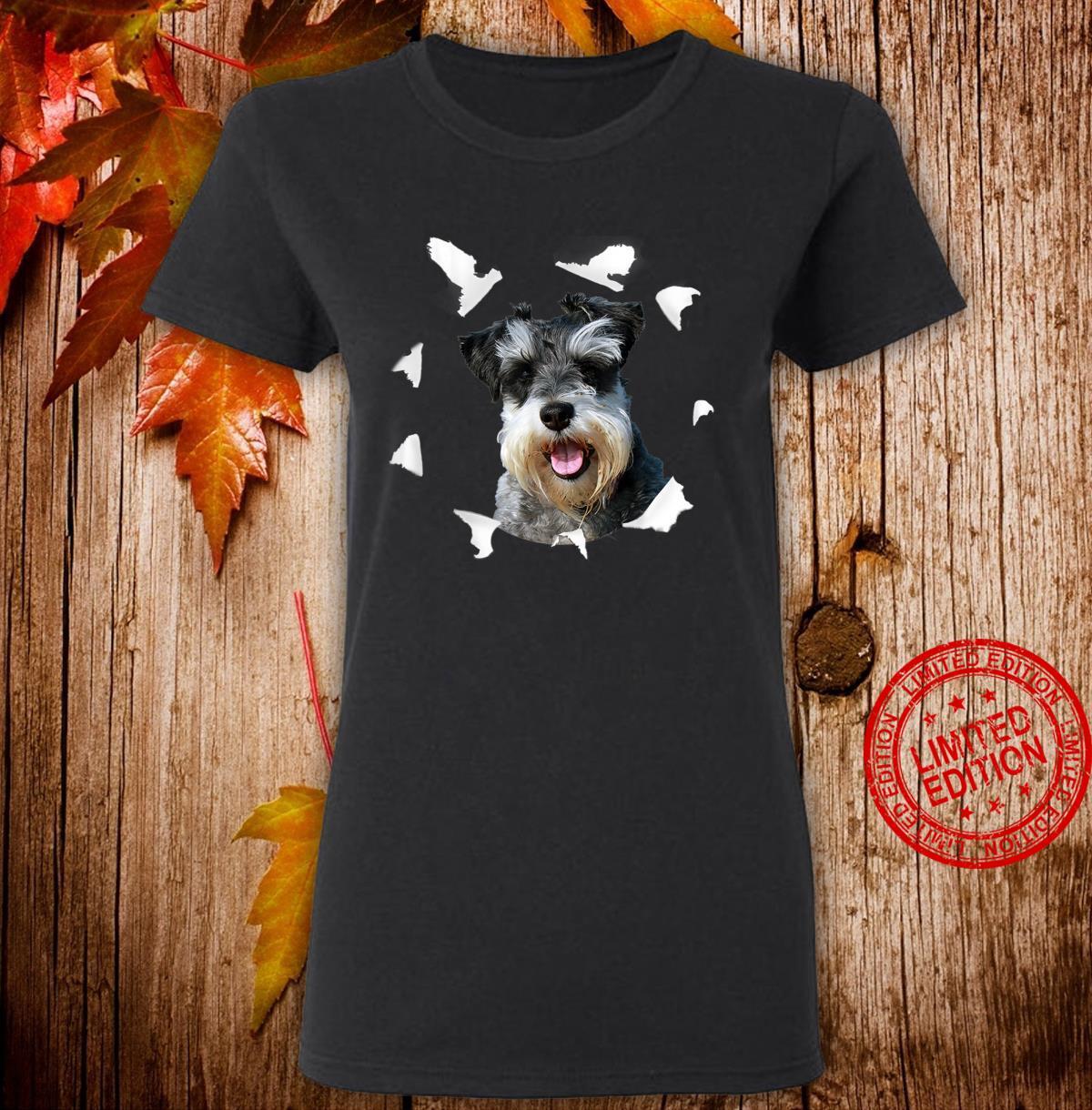 Zwergschnauzer Shirt Zwergschnauzer Hund Shirt ladies tee